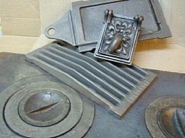 Базовый набор чугунных элементов печки