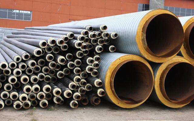 Утепленные трубы с полимерным покрытием