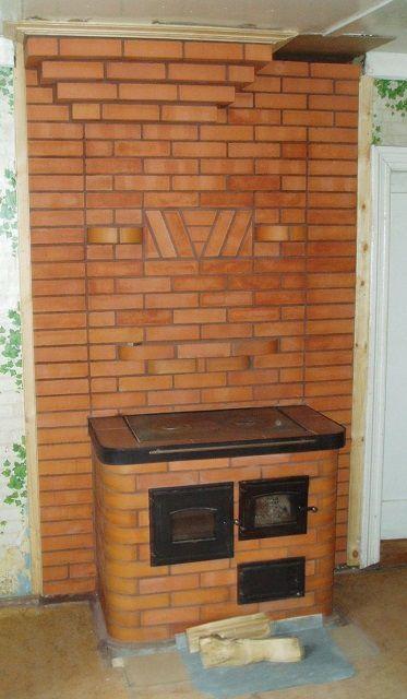 Варочная печь также способна прогреть небольшое помещение