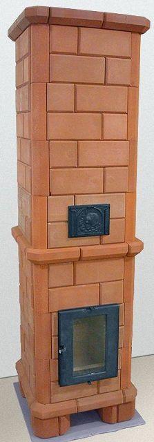 Компактная отопительная печь с каминным окном
