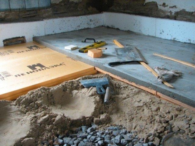 Бетонная стяжка пола своими руками в квартире инструкция