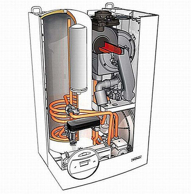Котел настенный газовый двухконтурный теплообменник двухходовой теплообменник черт ж 400