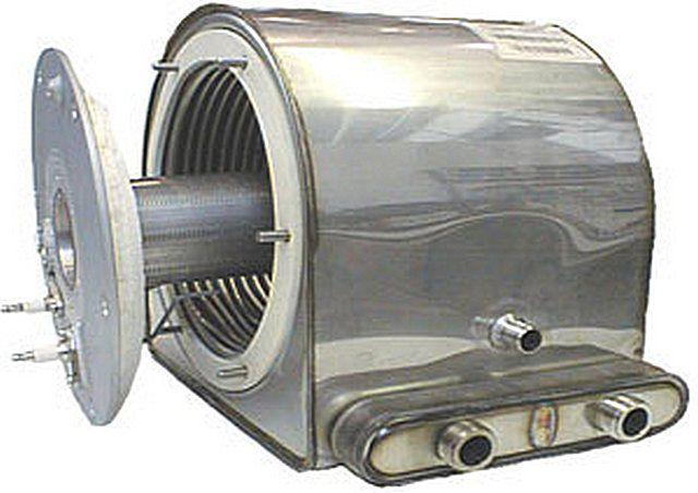 Одна из моделей теплообменников конденсационного типа
