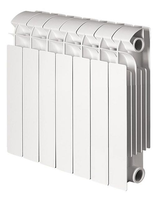 Биметаллические радиаторы можно назвать приборами повышенной универсальности
