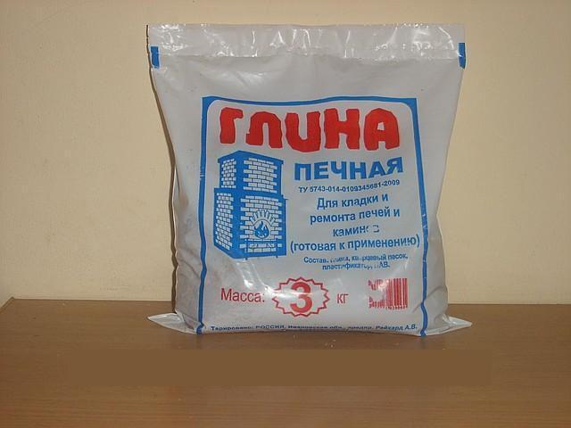 Традиционно основным ингредиентом печного раствора считается глина