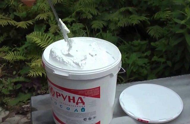"""Подготовка состава """"Корунд"""" к нанесению"""