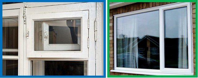 Без слов понятно, что термоизоляционные качества этих окон - существенно различаются