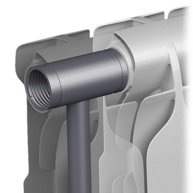 Принцип устройства биметаллического радиатора отопления