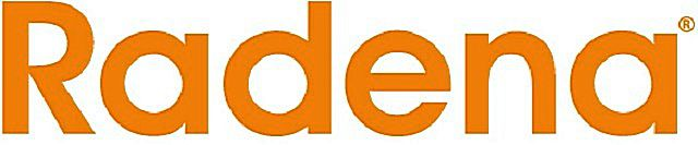 Логотип компании «Radena»