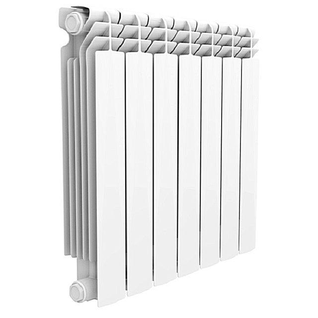 Биметаллический радиатор отопления «Alustal» – батарея из семи секций