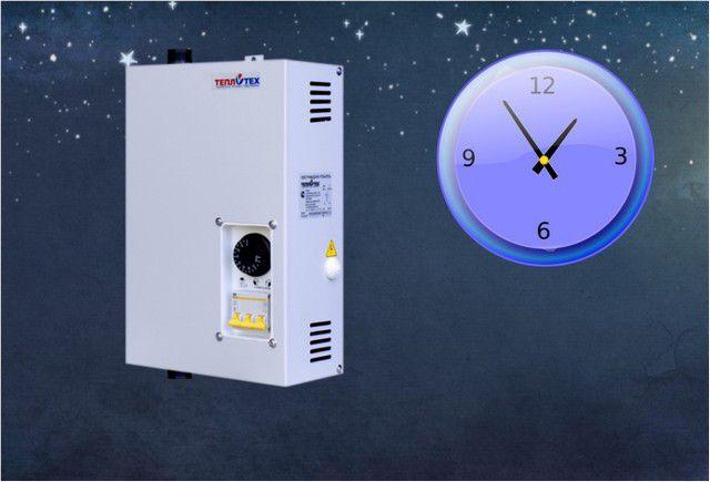 Теплоаккумулятор позволит по минимуму применять для отопления вечерние поощрительные тарифы на электрическую энергию