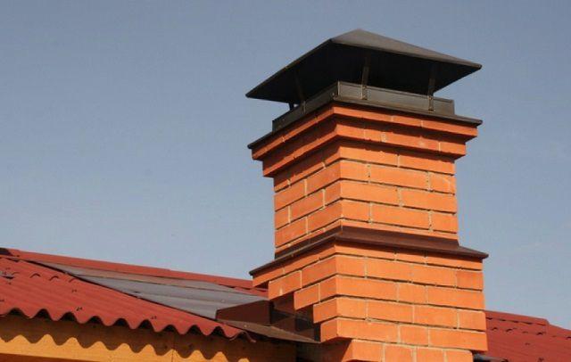 Разновидность кирпичных дымоходов из какой стали сделать дымоход для котла
