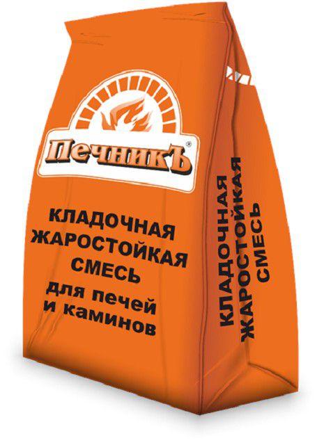 Очень удобный вариант – воспользоваться готовым кладочным печным раствором, продающимся в виде сухой строительной смеси