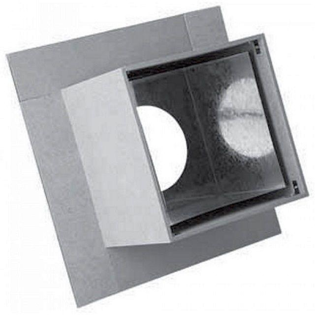 Минеритовая коробчатая проходка с металлическим вкладышем