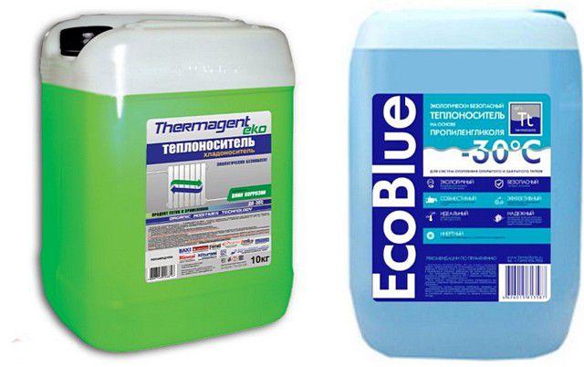 Пропилен-гликолевые незамерзающие теплоносители – это безопасность в применении, но уже за куда более высокую цену