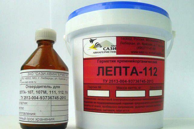 Двухкомпонентные герметики готовятся в соответствии с инструкцией непосредственно перед применением состава