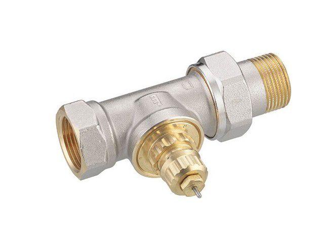Двухходовый термоклапан – из числа тех, что предназначены для радиаторов отопления в однотрубной системе
