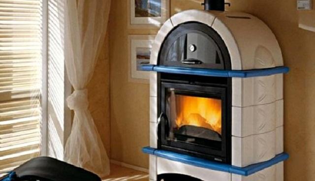 Печь без водяного контура, рассчитанная на обогрев одного помещения