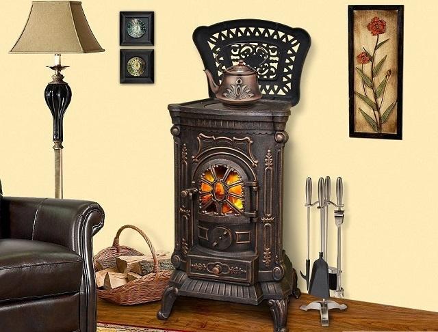 Печь-камин «Ambra» станет украшением любого помещения