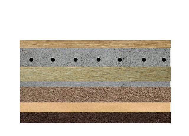 Для термоизоляции пола по грунту используется и керамзит, и другой, более эффективный утеплитель