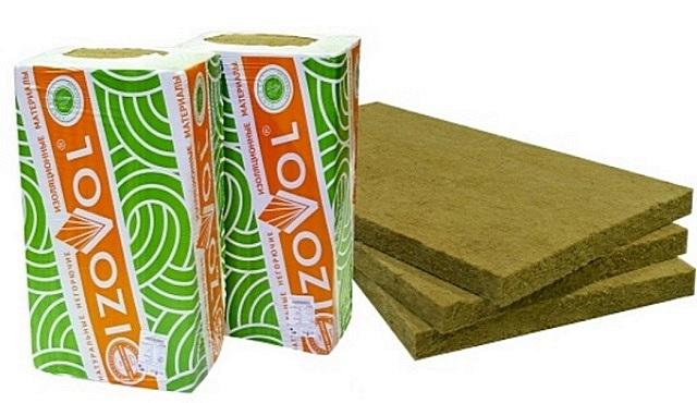 Минеральная вата из базальтовых волокон «Изовол»