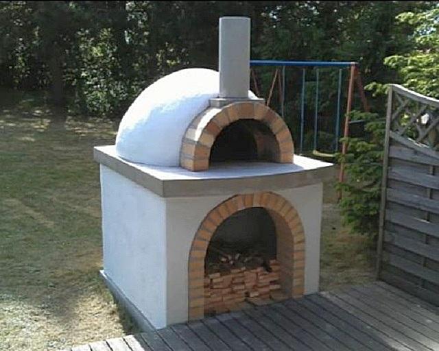 Печь со сводом, форма которого называется тосканской.