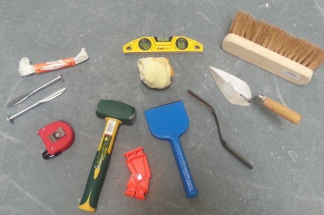 Инструменты для выполнения печной кладки.