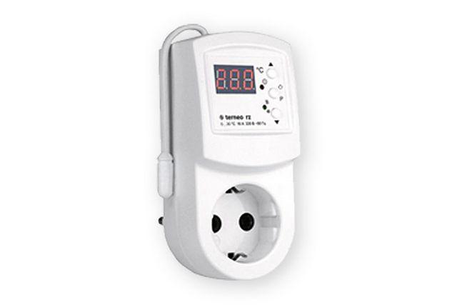 Такой термостат можно снимать и устанавливать по мере надобности