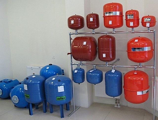 Расширительный бак для отопления закрытого типа установка