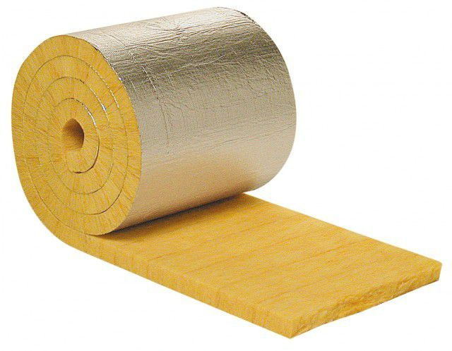 Один из самых удобных материалов - минеральная вата