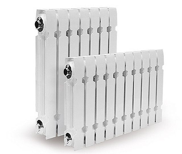 Современные чугунные батареи отопления