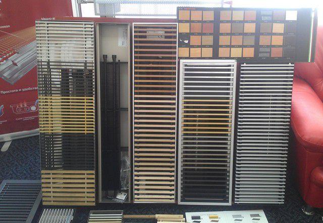 Модели конвекторов могут существенно различаться размерами, тепловой мощностью и внешним оформлением