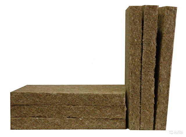 Готовые плиты из базальтового волокна