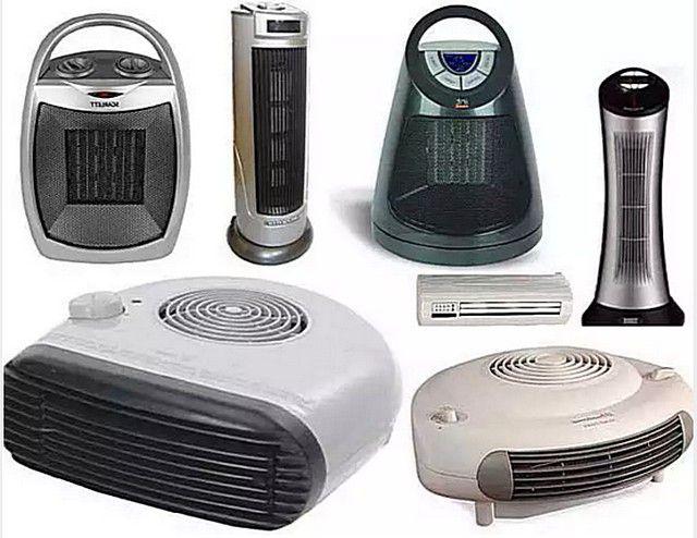 Тепловые вентиляторы представлены в продаже в большом разнообразии