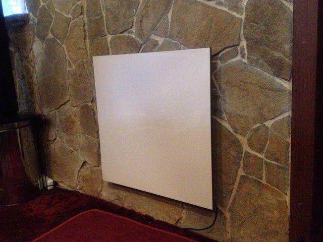 Обогревательная панель не занимает полезного пространства комнаты