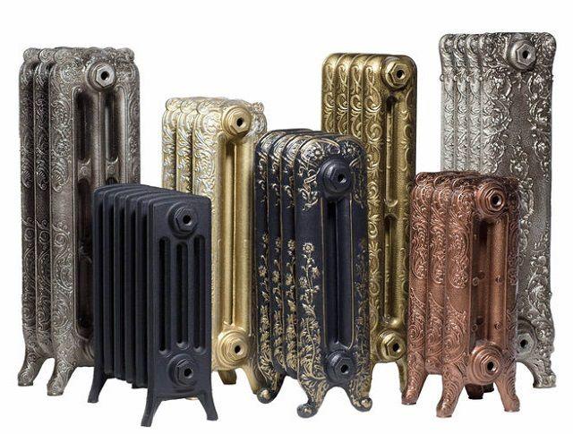 Разнообразие размеров и форм чугунных радиаторов