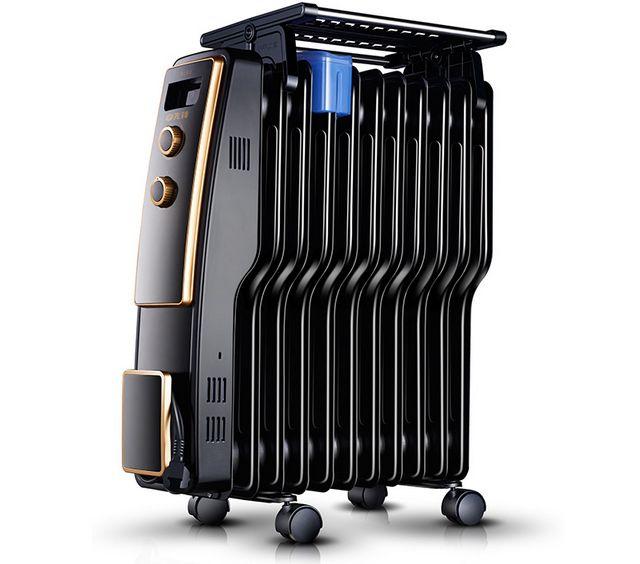Радиатор с увлажнителем воздуха и кронштейном-полкой для сушки одежды или обуви