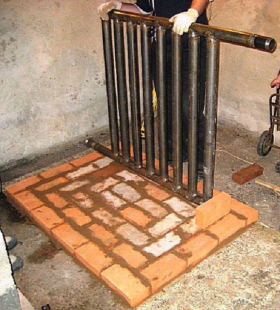 Можно оснастить печь Кузнецова и водяным контуром для локальной системы отопления