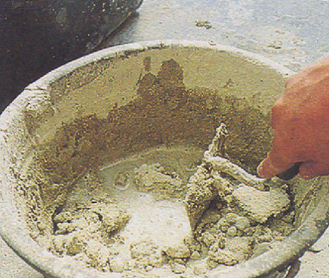 Известково-песчаный раствор