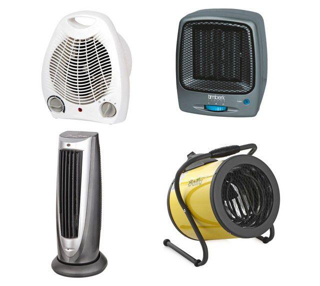 Тепловые вентиляторы различной модификации