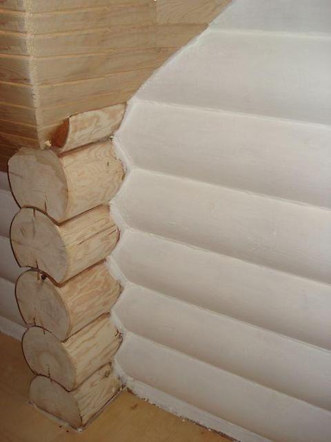 Состав можно употреблять и для утепления деревянных стен - у него достаточная паропроницаемость