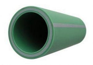 Образец полипропиленовой трубы со стекловолоконным армированием марки «BANNINGER WATERTEC»