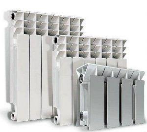 Три модели биметаллический радиаторов отопления марки «Radena»