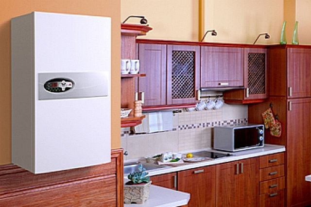 Отсутствие необходимости в системе отвода продуктов сгорания позволяет разместить электрический котелв любом удобном для хозяев месте