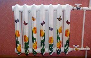 Креативный человек всегда найдет возможность внести разнообразие в декорирование радиаторов отопления