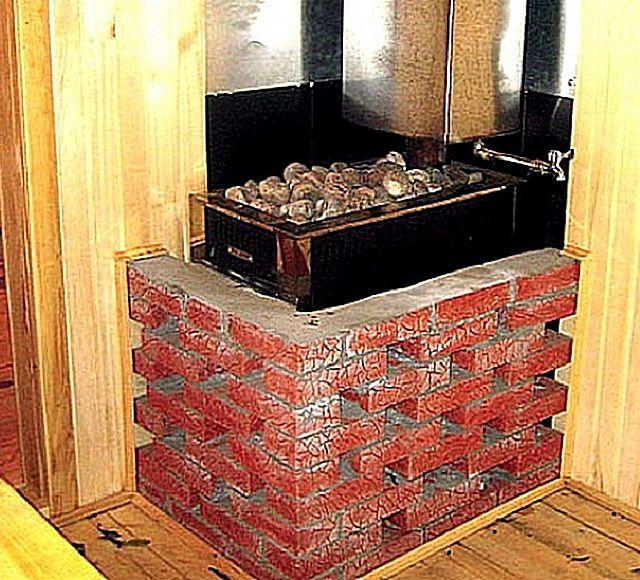 Пример кладки кирпичной стенки в полкирпича в разрядку