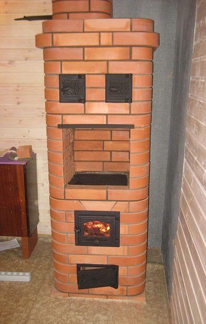 Печь «Кроха» — отличное решение для небольшого загородного дома