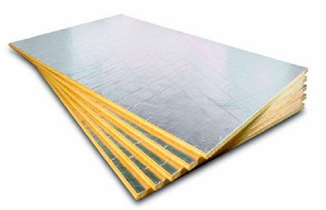 Материалом для изготовления потолочной проходки могут служить и плиты базальтовой минеральной ваты повышенной плотности с фольгированным покрытием
