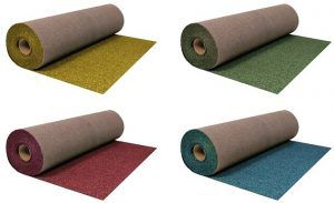Ендовные ковры производятся в различной цветовой гамме.