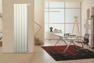 Вертикальный алюминиевый радиатор высотой 1800 мм
